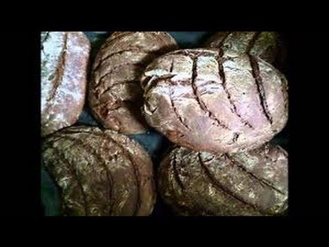 Хлеб. Выпечка ржаного бездрожжевого хлеба #суфикс