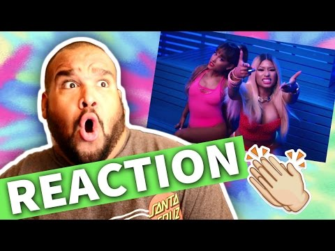 ARIANA GRANDE FT NICKI MINAJ - SIDE TO SIDE   REACTION