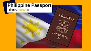 New Philippine Passport : How to get New Philippine Passport | PinoyHowTo