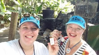 Day 5 - Sneaking off to the Rum Distillery! Tortola Island Tour  • Norwegian Cruise Vlog [ep15]