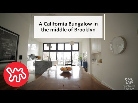 House Tour: Bungalow-Style Home Resides In Brooklyn