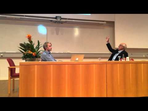 Galen S. Wagner, MD at Swedish Society of Clinical Physiology meeting 2015