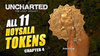 Uncharted: The Lost Legacy - All Hoysala Token Locations (Yas Queen Trophy Guide)