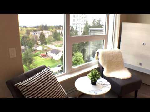 13398 104 Avenue Surrey BOSA SFU University District Brand New 1 Bedroom Fully Furnished Video Tour