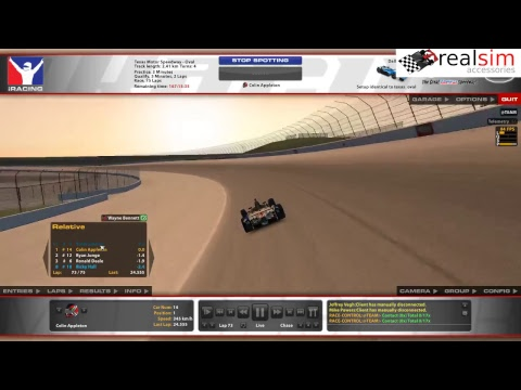 Indy Car Series - Texas Motor Speedway - Race 01