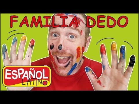 Familia Dedo de Animales | Aprende con Steve and Maggie Español Latino | Canciones para Niños