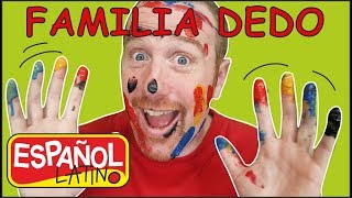 familia-dedo-de-animales-aprende-con-steve-and-maggie-espaol-latino-canciones-para-nios