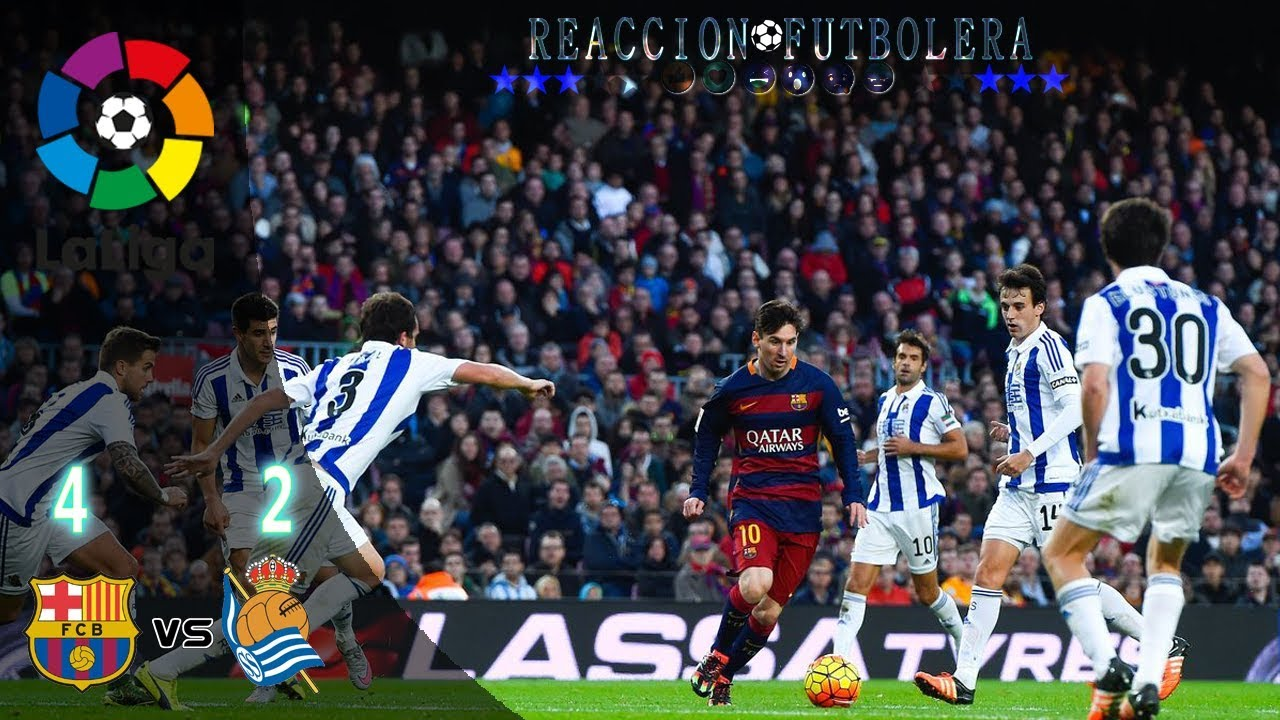 Barcelona vs Real Sociedad 4-2 - All Goals & Highlights ...