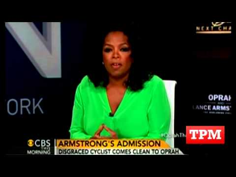 Oprah Opens Up  About Interview With Lance Armstrong