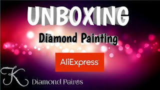 Unboxing 3rd Diamond Painting from YuHua Store on AliExpress