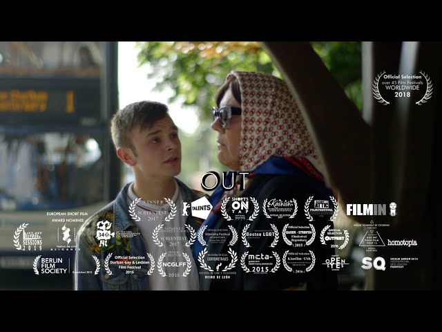 OUT (award-winning LGBTQ+ short film) written and directed by Gsus Lopez