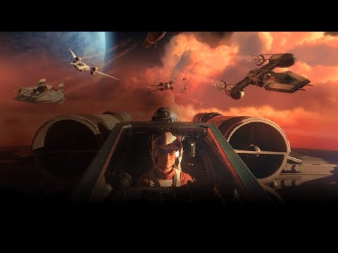 MY REACTION to Star Wars: Squadrons – Official Gameplay Trailer