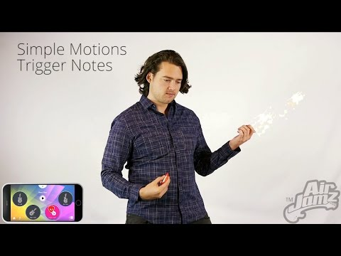 AirJamz: The App-Enabled Music Toy. Play Air Guitar and Make Real Music with Your Motion!