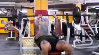 Chest & Triceps Mass Building Workout Routine For Beginners