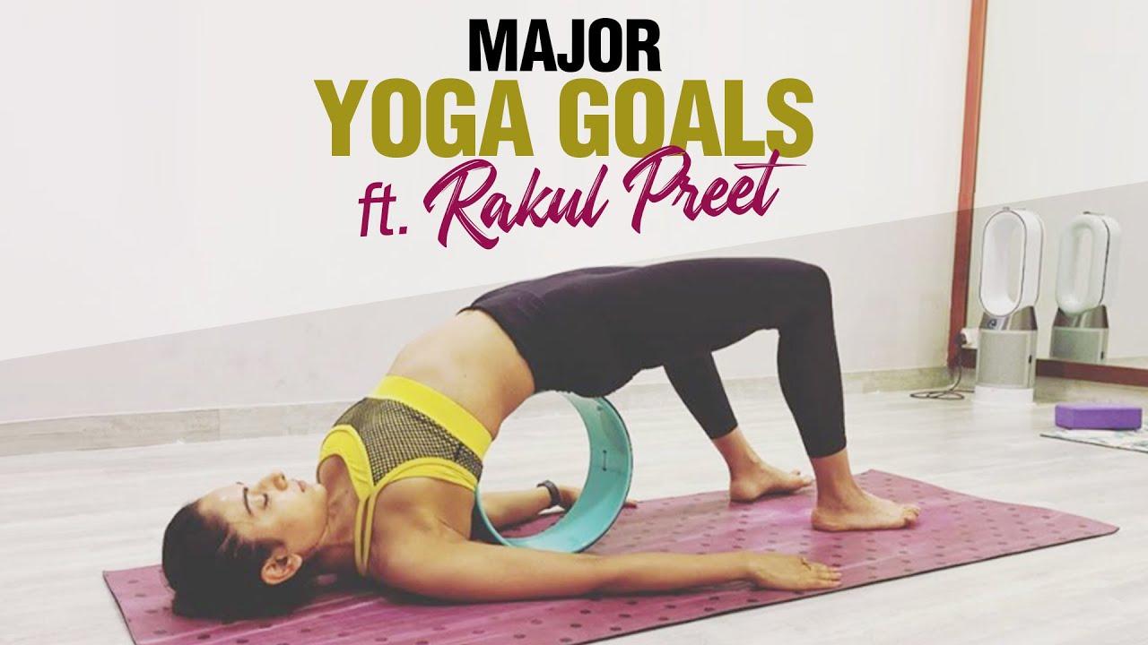 Download Rakul Preet's Yoga Routine | Fit Tak