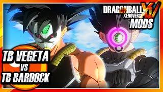 Dragon Ball Xenoverse PC: Time Breaker Vegeta Vs Time Breaker Bardock (DB Heroes) Mod Gameplay