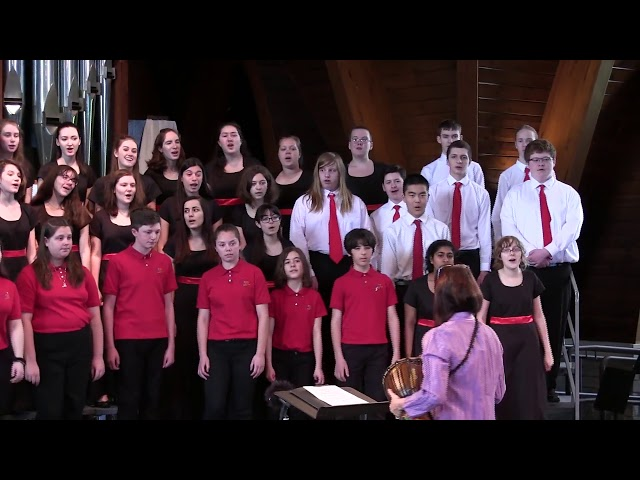 Bonse Aba  Worcester Childrens Chorus  Spring Concert 2017 1080p
