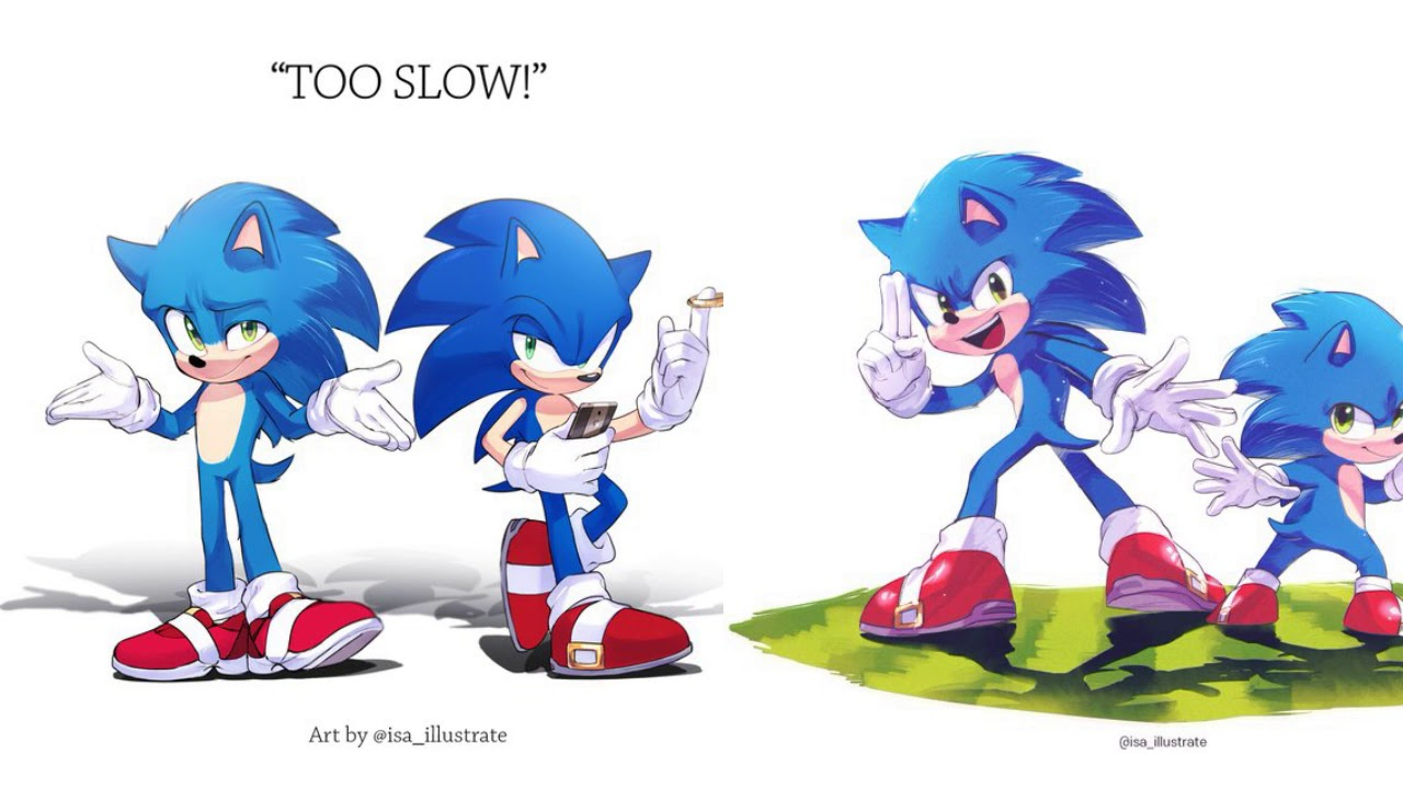 Why I Love Isa Yfn415 S Fan Art Don T Tell Modern Sonic And Classic Sonic By The Way Youtube
