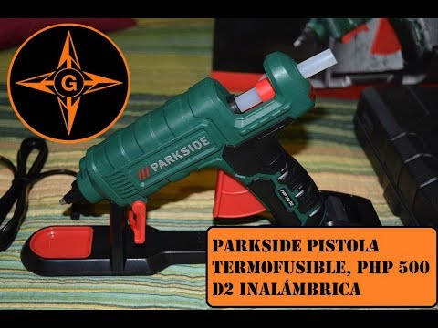 Parkside pistola termofusible silicona caliente php 500 for Pistola sparapunti parkside