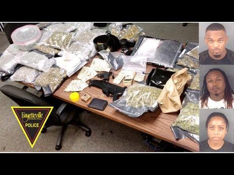 Fayetteville, North Carolina Day Care Raided In Huge Drug Bust.