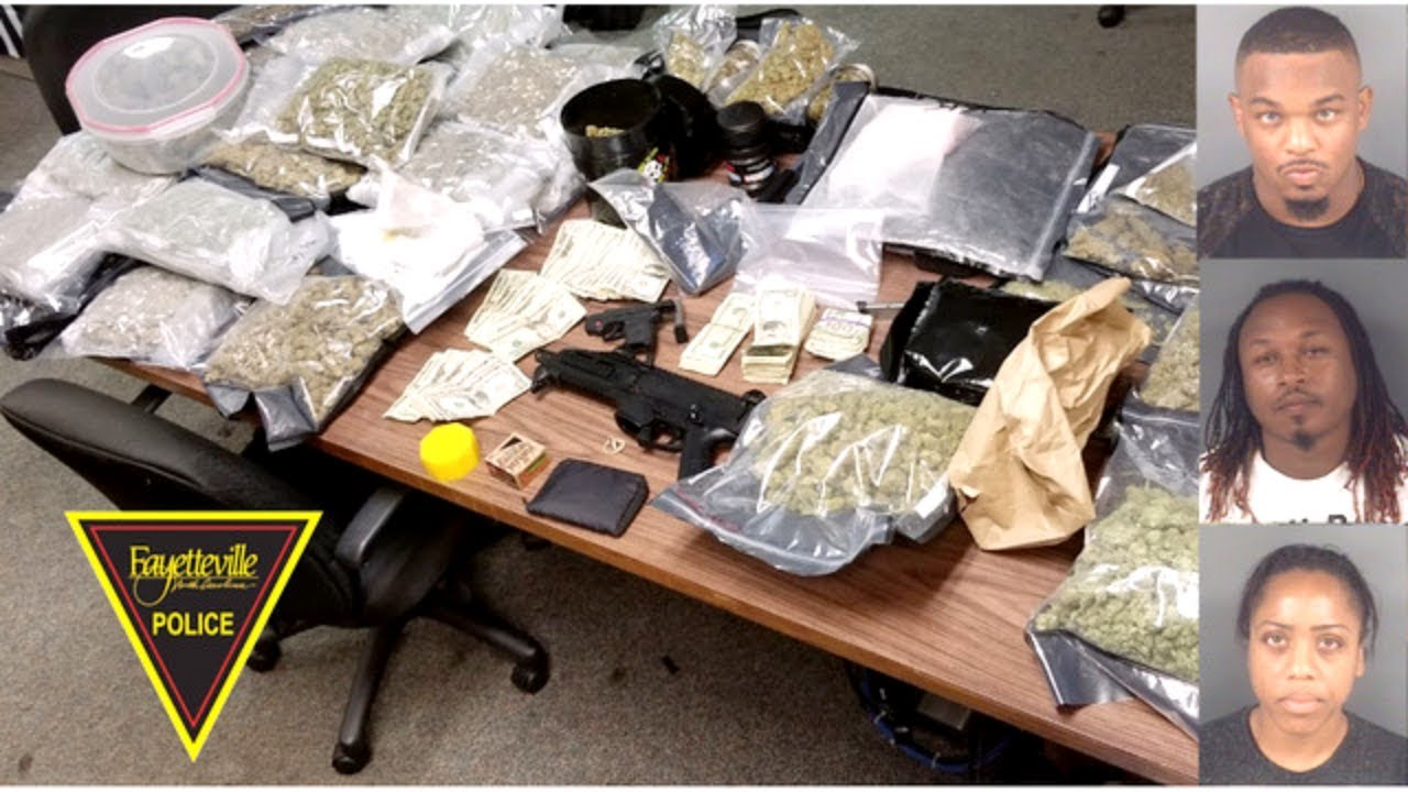 Fayetteville, North Carolina Day Care Raided In Huge Drug Bust.