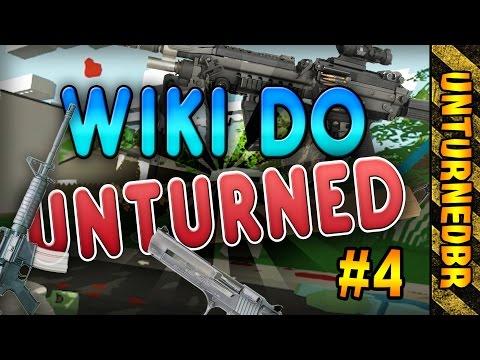 Tutorial Interativo - armas de fogo #1 | Wiki do Unturned #4 [UnturnedBR]