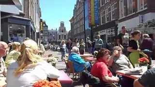 Alkmaar, Holland, June 2015, Draaiorgelmuziek.