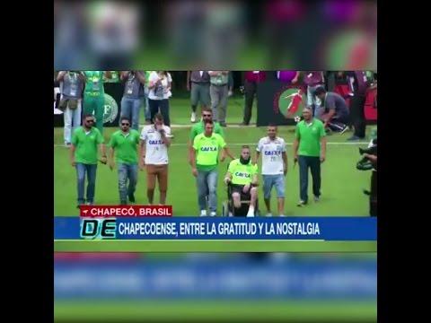 ACF Sobrevivientes de Chapecoense Levantaron la Copa Sudamericana 21/01/2017 (Reencuentro)