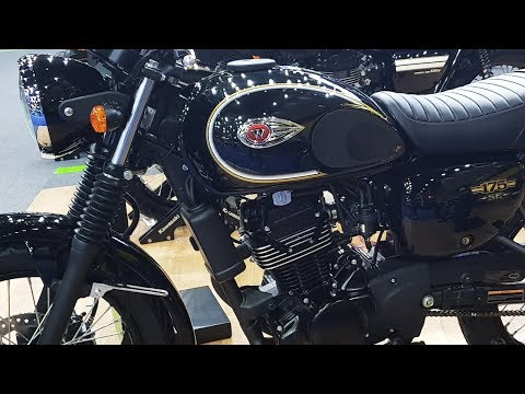 Kawasaki W175 SE METALLIC SPARK BLACK