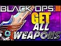 """HOW TO GET ALL """"NEW DLC WEAPONS"""" In Black Ops 3!  - HOW TO USE ALL """"NEW GUNS"""" BO3 GET ALL DLC GUNS"""