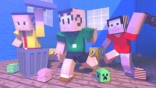 Minecraft: TURMA DA MONICA - SURVIVAL LUCKY DUPLA ‹ AM3NIC ›