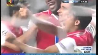 Braga - Udinese. Goal by Ismaily.avi