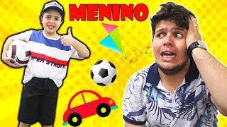 HELOÍSA SE TRANSFORMOU EM UM MENINO (превратилась в мальчика)