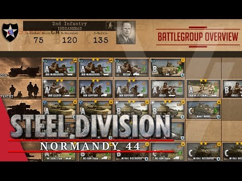 2nd Infantry (Indianhead) - Steel Division: Normandy 44 Battlegroup Overview #5