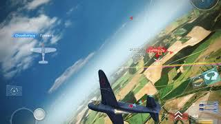 "Игра «War wings"".Бой на Як-15"
