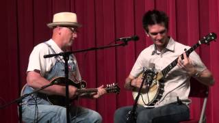 Adam Hurt with Mike Compton - Old Dangerfield - Midwest Banjo Camp 2014