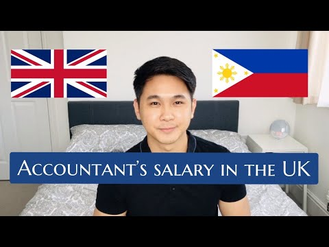 HOW MUCH DO ACCOUNTANTS EARN IN THE UK? | CHARTERED ACCOUNTANT | FILIPINO ACCOUNTANT IN THE UK