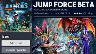 JUMP FORCE BETA RELEASE DATE ANNOUNCED! Jump Force Closed Beta Demo Sign Up Information Download!