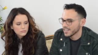 Festival Sanremo 2017, Intervista a Raige e Giulia Luzi