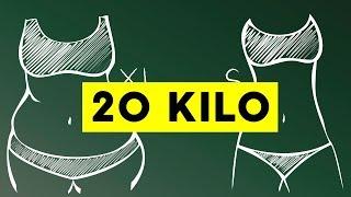 20 Kilo abnehmen: So klappt es endlich!