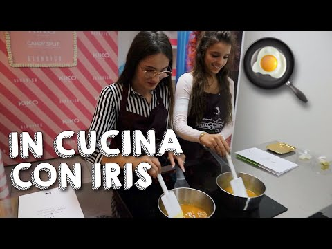 SOFIA E IRIS IN CUCINA DA KNAM!   Sofia Dalle Rive