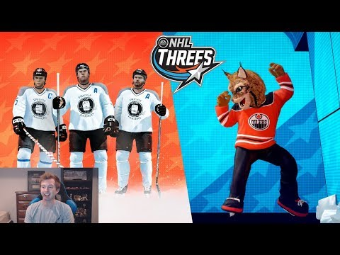 NHL 18 CAMPAIGN MODE - THREES CIRCUIT