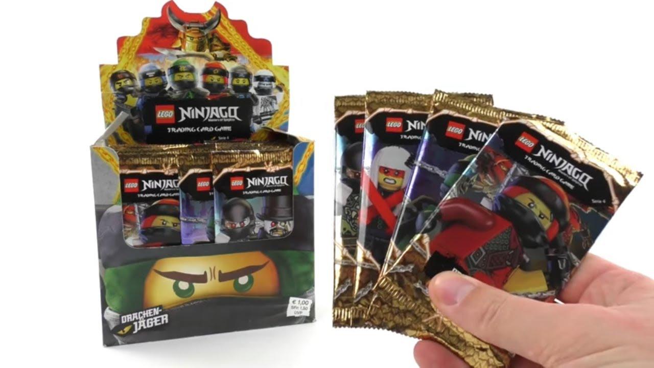 Drachenmeister Zane Ninjago Serie 4 Tradingkarten NEU ! Eisdrache