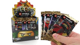 LEGO Ninjago Trading Card Game Serie 4 / komplettes Display Unboxing / 50 Booster / Pack Opening