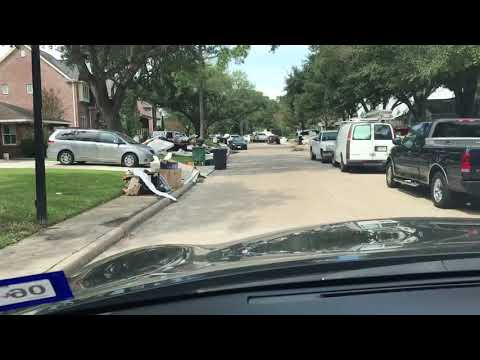 Harvey Aftermath in Braeswood Place