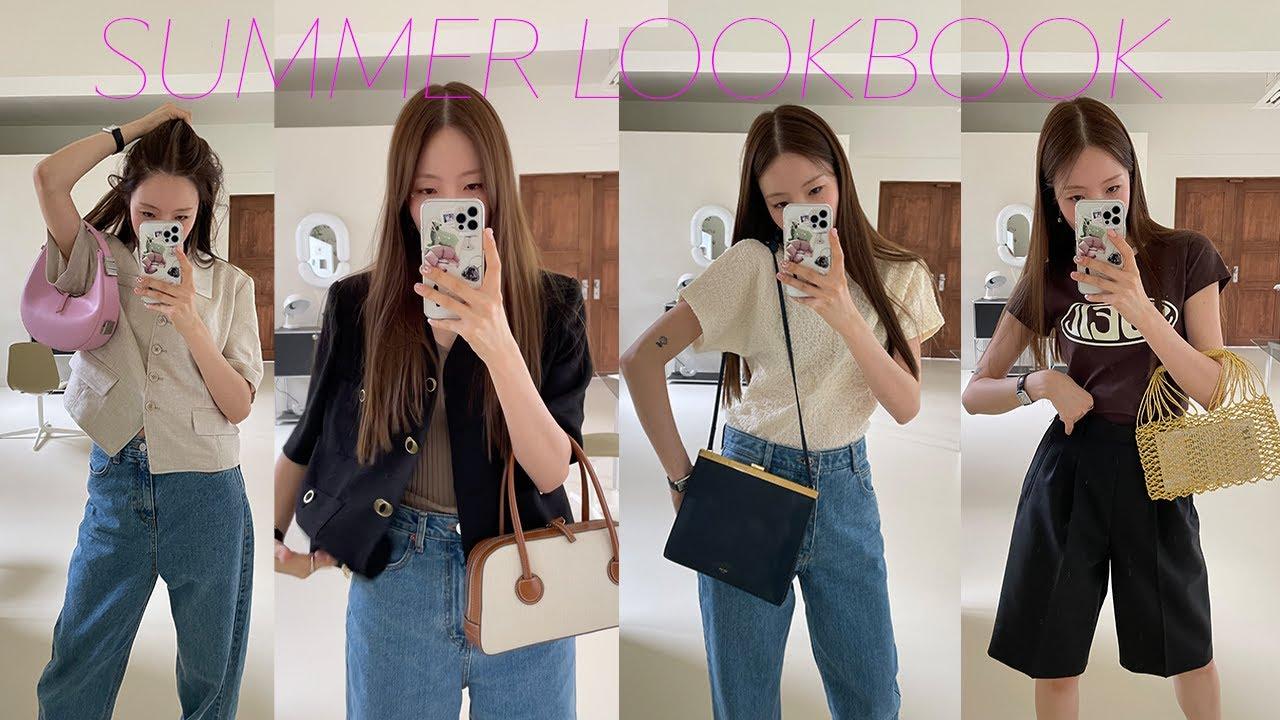 쿨~한 여름⛲️ 스타일 9가지 📗  Summer LOOKBOOK. 9 Outfit Ideas!