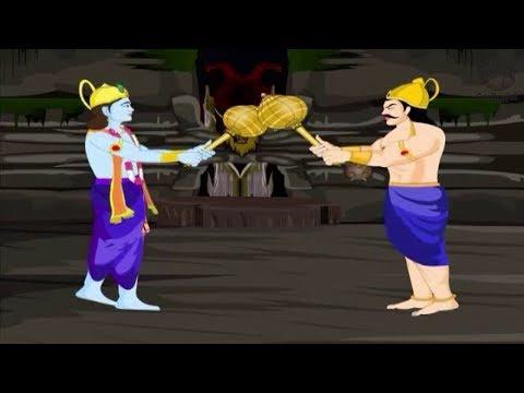 Lord Krishna Stories for Children - Krishna and Narakasura - The Story of Diwali