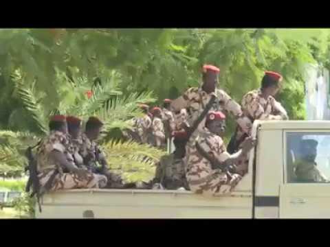 President Muhammadu Buhari attends the Extraordinary summit in Chad