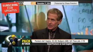 First Take - Good Packers or Bad Eagles?