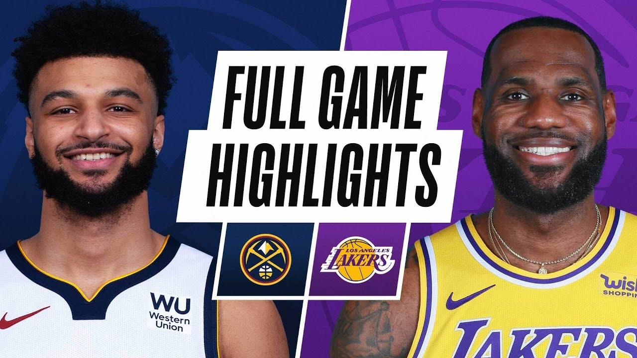 NUGGETS at LAKERS | FULL GAME HIGHLIGHTS | February 4, 2021 - NBA